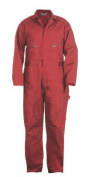 Berne Apparel C231RDT480 48 Tall Deluxe Unlined Coverall - Red