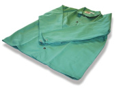 US Forge 99420 Fire Stop Jacket with Snap Fasteners Large - Green