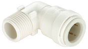 Watts P-630 1.3cm . Quick Connect x 1.3cm . Male Pipe Thread Quick Connect Elbow