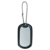 Fox Outdoor 57-61 Dog Tag Silencers - Black Rubber