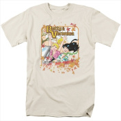 Archie Comics-Fall Colours - Short Sleeve Adult 18-1 Tee Cream - Extra Large
