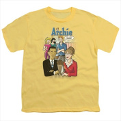 Archie Comics-Anythings Possible - Short Sleeve Youth 18-1 Tee Banana - Small