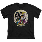 Archie Comics-Cover No. 147 - Short Sleeve Youth 18-1 Tee Black - Small