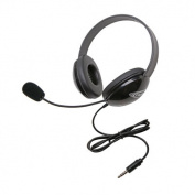Califone International 2800TBK Listening First To Go Headset - Black