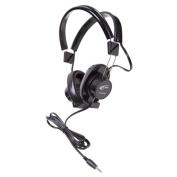 Califone International 61044S-BK 610 Series Black Stereo Headphone