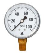 Zenport DPG100 Dry Air Pressure Gauge 0-100 Psi