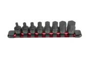Sunex Tool Su3645 8 Pc .100cm . Dr. Metric Stubby Impact Hex Driver Set