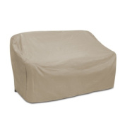 Protective Covers 1122-TN Oversized Two Seat Wicker Sofa Cover Tan