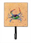 Carolines Treasures 8467SH4 Crab Leash Holder Or Key Hook