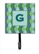 Carolines Treasures CJ1020-GSH4 Letter G Initial Monogram - Blue Argoyle Leash Holder Or Key Hook
