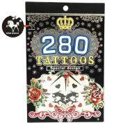 280 Temporary Tattoos - M3 Style