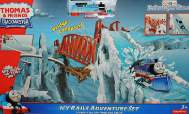 THOMAS FRIENDS Trackmaster Sodor Snow Storm ICY RAILS ADVENTURE SET by Fisher-Price - Shop ...