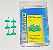 GREEN INDICATOR PINS FOR INFLATABLE PFDs