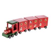 Wooden Train 3 Carridge Advent Calendar