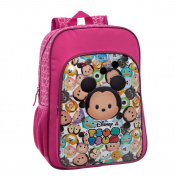 Tsum Tsum Adaptable School Backpack, 40 cm, 19.2 Litres, Pink