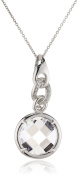 Orphelia Women's Pendant with Chain 925 Sterling Silver with Zirconia 45 CM ZH - 4563