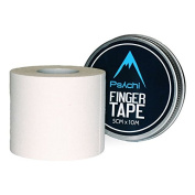 Psychi Sports Finger Tape For Rock Climbing Boxing Gymnastics Physio - White