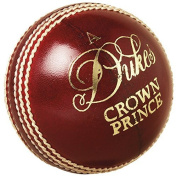 "Dukes Cricket Ball Crown Prince ""A"" Mens 156g (160ml) Cricket Match Ball"