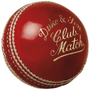 "Dukes Cricket Ball Club Match ""A"" Mens 156g (160ml) Cricket Ball"