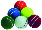 Readers Cricket Sports Allplay Double Seamed Training Practise Balls - Set Of 6