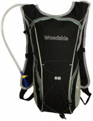 Woodside 2 Litre Hydration Pack Water Rucksack/Backpack/Cycling Bladder Bag