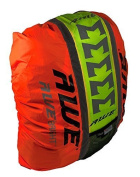 AWE® AWEBrightTM 3M Scotchlite Hi Viz Waterproof Rucksack Backpack Cover Neon Yellow/Orange