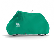 BikeParka - Waterproof Ripstop Bicycle Cover - Style STASH - Colour EMERALD
