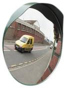 Mottez Driveway Traffic Mirror Green 40 cm