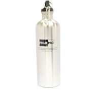Pedalpro 750ml Stainless Steel Drinks Bottle With Carabiner Clip