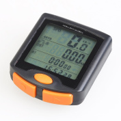Xcellent Global Multi Function LCD Bicycle Cycling Computer Odometer Speedometer Stopwatch NIGHT LIGHT