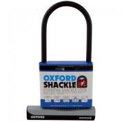 Oxford U-Lock Essential Shackle Lock - Black, 32 cm