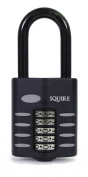 Squire CP60/2.5 63mm All Weather Push Button Combination Padlock Long Shackle