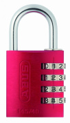 ABUS 145/40 Combination Padlock - Red
