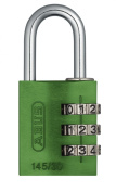 ABUS 145/30 Combination Padlock - Green