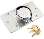 NEW HEAVY DUTY HIGH SECURITY 2PC PADLOCK HASP VAN LOCK