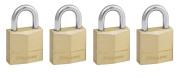 Master Lock 120EURQNOP 20mm Brass Padlocks Keyed Alike