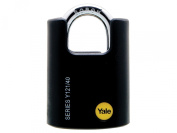 Yale Locks Y121 40mm Brass High Security Padlock Closed Shackle