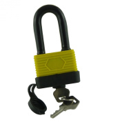 WATERPROOF PADLOCK - LONG SHACKLE - 50MM