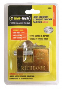 Tool Tech 60mm High Security Straight Shackle Padlock