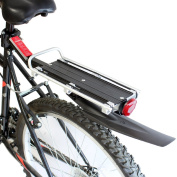 PedalPro Mudguard Rear Bicycle Rack with Reflector