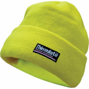 Yoko Unisex Hi-Vis Beanie Hat with Thermal 3M Thinsulate Lining