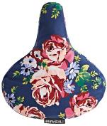 Basil Saddle Cover Blossom Roses blue