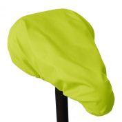 Reliable, waterproof Saddle Cover / Bike Seat Protection - MadeForRain CityHopper Basic - Neon Yellow