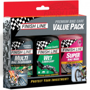 Finish Line Bike Care Value Pack
