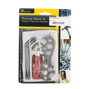 PUNCTURE REPAIR KIT BICYCLE TYRE BIKE PATCH SPANNER LEVER TOOL KIT HANDY NEW