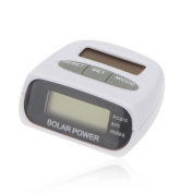 B-Comrade LCD Solar Powered Step Calorie Counter Pedometer