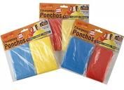 Twin Pack Emergency Waterproof Poncho / Rain Coat / Mac