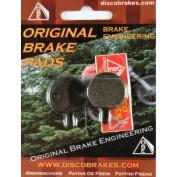 Hayes Sole Disc Brake Pads DiscoB Cannondale GX-C GX2 MX2 MX3 MX4 MX5 CX GX MX