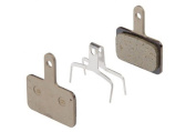 B01S disc brake pads, steel backed, resin