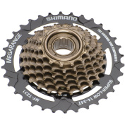 Shimano Tourney MF-TZ31 7 speed cassette brown 2014 7 speed freewheel